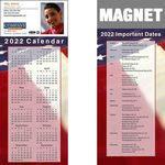 Custom Full Color Calendar Magnet (3 1/2