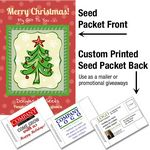 Custom Out of Stock - Forget-Me-Not (Blue)/ Mailable Seed Packet - Custom Printed Back
