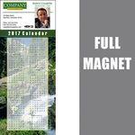 Custom 14 Mil Full Color Vinyl Calendar Magnet