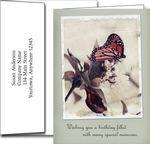 Custom Birthday Greeting Cards w/Imprinted Envelopes