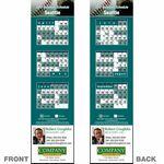 Custom Seattle Pro Baseball Schedule Bookmark (2