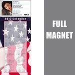 Custom 14 Mil Full Color Vinyl Calendar Magnet (3 1/2