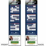 Custom Cleveland Pro Baseball Schedule Bookmark (2