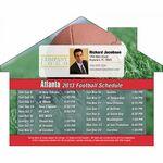Custom Atlanta Pro Football Schedule House Shape Magnet (5