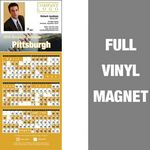 Custom Pittsburgh Pro Baseball Schedule Vinyl Magnet (3 1/2