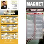 Custom Pittsburgh Pro Baseball Schedule Magnet (3 1/2