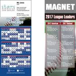 Custom Chicago (National) Pro Baseball Schedule Magnet (3 1/2
