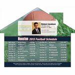 Custom Houston Pro Football Schedule House Shape Magnet (5