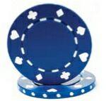 Custom Hot Stamp Poker Chip (11.5 Gram Suited Design)