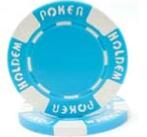 Custom Hot Stamp Poker Chip (Suited Holdem Design)