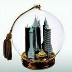 Custom New York City Cab Memory Globe