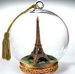 Custom Paris Memory Globe