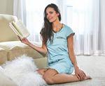 Custom Short Sleeve Sleep Tee