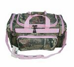 Custom Mossy Oak Camo Duffel Bag w/ Contrast Trim (20