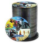 Custom Duplicated and Printed DVD (Bulk)