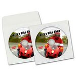 Custom Duplicated and Printed DVD in Paper Sleeve