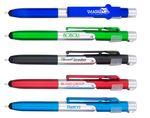 Custom The Transformer 2.0 4-in1 Ballpoint Pen, Light, Stylus & Phone Stand. Twist Action.