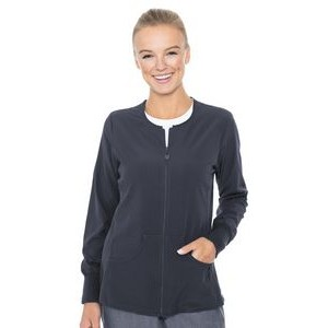 Med Couture Activate Women's Zip Front Warm-Up Jacket