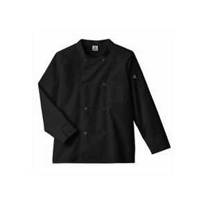 White Swan Five Star Long Sleeve Moisture Wicking Chef Coat
