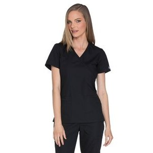 Cherokee Workwear Originals Mock Wrap Top