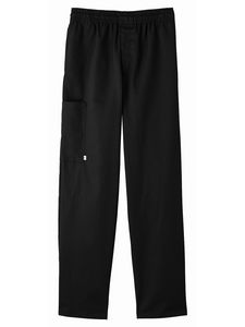 Custom White Swan Five Star Chef Apparel Zipper Front Pant