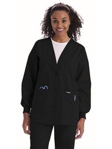 Custom Landau Essentials Cardigan Warm-Up Jacket
