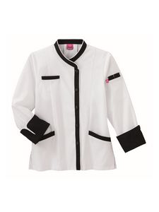 Custom White Swan Five Star Long Sleeve Executive Chef Coat