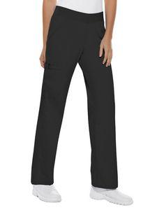 Custom Cherokee Flexibles Mid-Rise Knit Waist Pull-On Pant