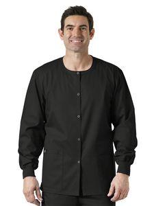 Custom WonderWink WonderWORK Snap Front Warm-Up Jacket
