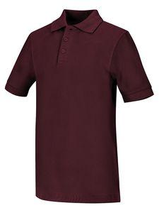 Custom Cherokee Classroom Short Sleeve Pique Polo