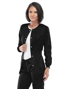 Custom Cherokee Luxe Snap Front Warm-Up Jacket