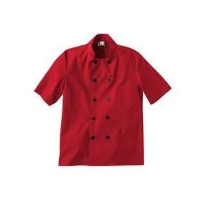 White Swan Five Star Chef Apparel Short Sleeve Chef Jacket