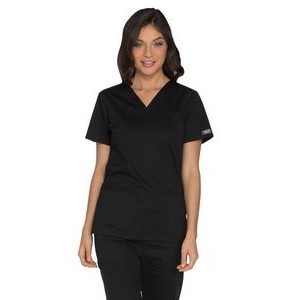 Cherokee Workwear Core Stretch V-Neck Top