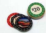 Custom Full Color Double Sided Poker Chips