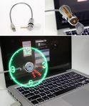 Custom USB Fan and LED Clock