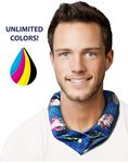 Custom Koolgator Cooling Neck Wrap - Print Any Design in Full Color/ All Over
