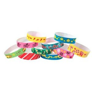 Stock Preprinted Tyvek® Event Wristband (Tattoo)