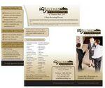 Custom Economy/ Fast Full Color Brochure - 2 Sided (8 1/2