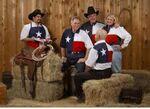 Custom Polo Shirt w/ Texas Flag