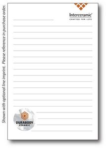 4 x 6 25-Sheet Notepad