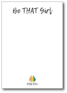 5 x 7 25-Sheet Notepad