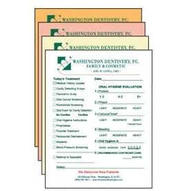 "8.5"" x 11"" 4-Part Full Color Carbonless Forms"