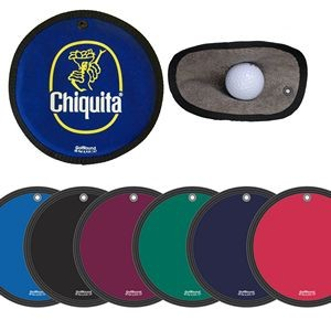 "Golf Round Pocket Towel 6"" diameter"