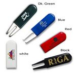 Custom Round Top Rubber Grip Bent Fork Divot Tool (new for 2017)