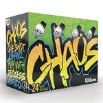 Custom Wilson Chaos Golf Balls (24-Ball Box) - 2017