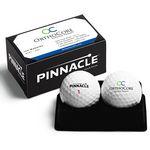 Custom New Pinnacle Soft 2-Ball Business Card Box