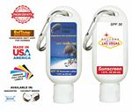Custom Sunscreen 1.9 Oz. Tottle Full Color