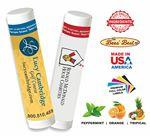 Custom Bees' Best Beeswax Natural Peppermint Lip Balm SPF15
