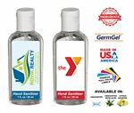 Custom Pure-Cell Hand Sanitizer, 1 Oz Oval