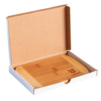Totally Bamboo Small Laser Engraved Bamboo Cutting Board